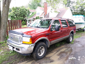 2000 Ford Excursion Limited Edition rare red color