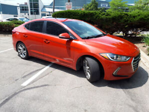 PRICE DROP Very clean 2017 Elantra GL with extended warranty