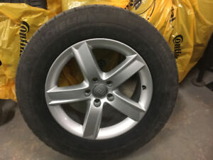 Winter Tires with Aluminum Rims for Audi Q5