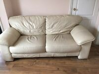 3 piece leather couch (Sofa)