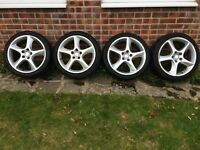 Seat Sport BBS Alloy Wheels and Tyres