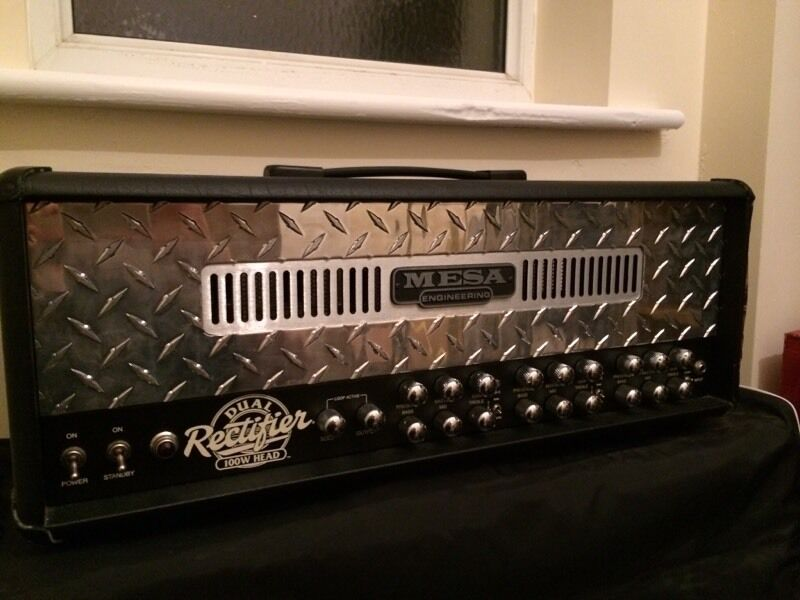 Rectifier Amp Head Mesa Boogie Dual Rectifier Amp Head And Line 6 Cab