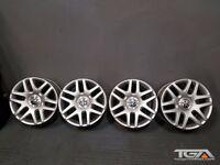 "19"" Genuine VW Helios Alloy Wheels for a VW Phaeton Golf MK5, MK6, MK7, Passat"