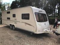 2007 Bailey Senator Carolina 6 Berth Caravan FIXED BUNK BEDS, Twin axle Awning !