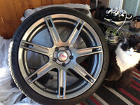 19inch TRD Rims with Tires