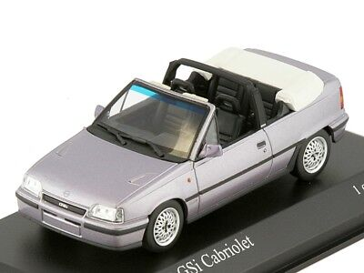Scale model 1/43 Opel Kadett E GSI Cabriolet 1989 Saturn Metallic for sale  Shipping to United States
