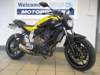 YAMAHA MT07 ABS LOW MILE TRADE SALE BARGAIN