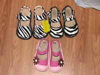 3 pairs of squeaky shoes size 7