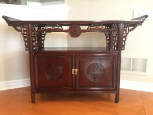 Asian Altar Console Table