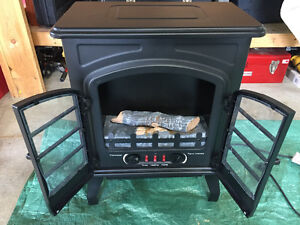 Small room fireplace