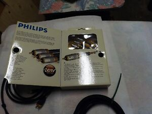 Philips HD Home Video Theater Component Cables 6 ft long