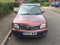 Nissan Micra 2002 AUTOMATIC 5 doors in very good condition drives excellent 1.0