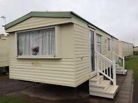 Cheap 6 berth static caravan Cala Gran inc 2016 Site Fees only £10k Finance available