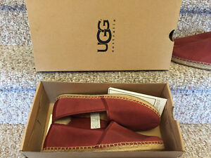 New! Ugg slip on canvas shoes size 10 or 12 reduced