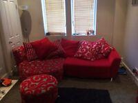 Dfs sofa / swivel chair