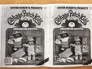 knitting and crochet patterns for Cabbage Patch kids