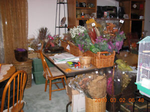 High End Silk & Dry flowers - Inventory for sale/serious offer