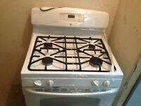 gas stoves , fridges, and building material at reduced prices
