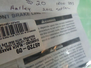 Harley 883 Iron cable set   recycledgear.ca Kawartha Lakes Peterborough Area image 3