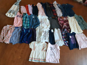 Girls 5 and 6 clothing lot