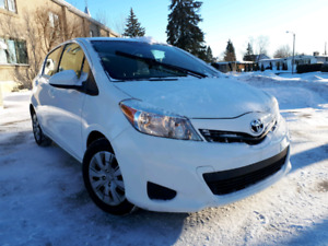 CERTIFIED 2012 TOYOTA  YARIS LE FULLY LOADED 8690$