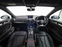 2019 Audi A3 S3 TFSI 300 Quattro Black Edition 4dr S Tronic Auto Saloon Petrol A