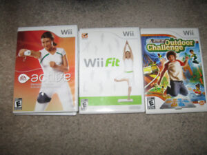 Wii  Fitness discs-$5 each