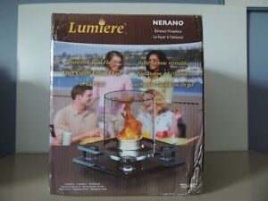 Lumiere Ethanol Fireplace