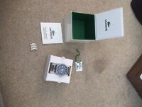 Genuine Lacoste watch brought from h Samuel Poole