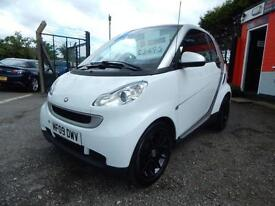 2009 Smart Fortwo Coupe Passion mhd 2dr Auto 2 former keepers,2 remote keys 2...