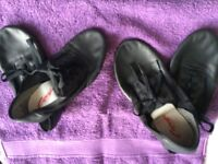 Soft dance shoes approx to fit UK 1 and UK 5