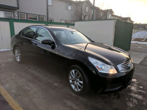 2008 INFINITI G35X with 2 sets of tires!! CLEAN TITLE