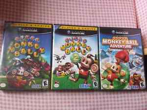 Super Monkey Ball 1, 2 and Adventure - Gamecube