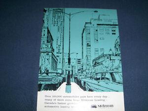 METROCAN LEASING LTD-1964 ADVERTISEMENT-MONTREAL, QUEBEC