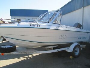 1997 Cutter 16 Pro Fisher