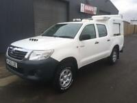 *SOLD* 2012 (62) Toyota Hilux 2.5 D4-D HL2 Double Cab Utility 4x4 Diesel Pickup