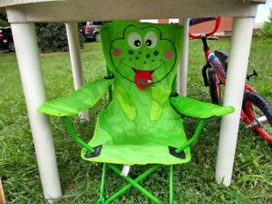 Chaises de camping pour enfant