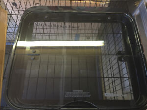 Glass top for RV stove