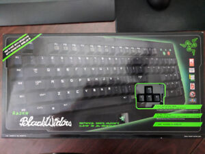BlackWidow Razer mechanical keyboard (like new) in original pack