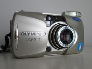 Caméra à film compacte OLYMPUS STYLUS 120 - Point & Shoot