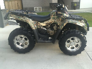 2008 CanAm Outlander XT 800cc HO with Tracks