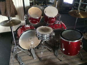Kit mix Double Bass-Drum Pearl Export -Supra