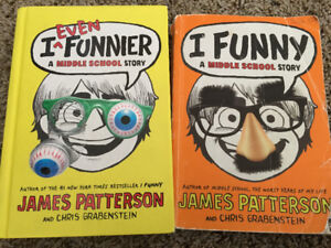 I Funny Volumes 1 and 2 by James Patterson for Sale