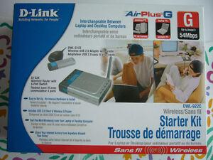 Trousse de démarrage DWL-922C de DLink à vendre