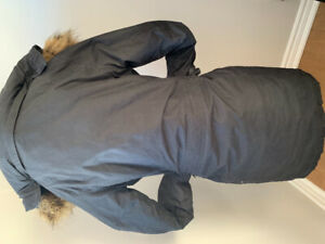 Black Winter Jacket TNA from Aritzia- great price
