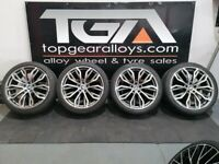 """22"""" BMW STYLE 375M ALLOYS & TYRES for X5"""