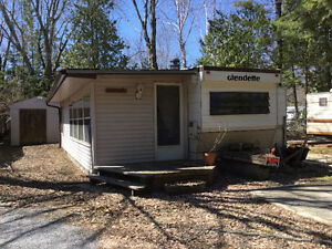 1 Bedroom Trailer with 2 Washrooms and Sunroom For Sale