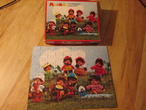 MONCHHICHI Jigsaw Puzzle Monkey Toy Vintage Parker Brothers 1974