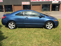 2007 HONDA CIVIC COUPE SUNROOF SAFETY+E-TEST/INCLUDED