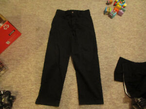 Boys Black Dress Pants Size 10